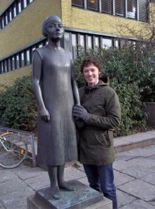 Karin Boye Stadsbiblioteket, Götaplatsen, Göteborg, Sweden