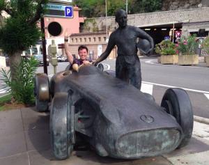 Juan Manuel Fangio Boulevard Albert 1er, Monte Carlo, Monaco