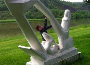 Dame du bord de Meuse (Woman on the bank of the River Meuse)