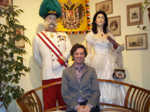 Franz Joseph I and Elizabeth of Austria The Prater, Vienna, Austria