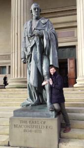 Benjamin Disraeli, 1st Earl of Beaconsfield St George's Hall, Lime Street, Liverpool