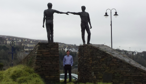 Hands Across the Divide, Carlisle Square, Derry