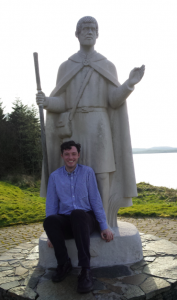 Patrick the Pilgrim Lough Derg, Pettigo, Co Donegal, Ireland