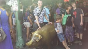 Rachel the Piggy Bank Pike St, Seattle, Washington, USA