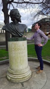 John Donne St Paul's Cathedral, London, England