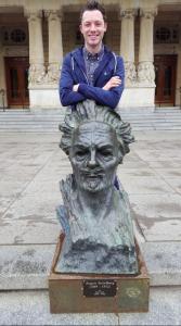August Strindberg Dramaten, Nybroplan, Stockholm, Sweden